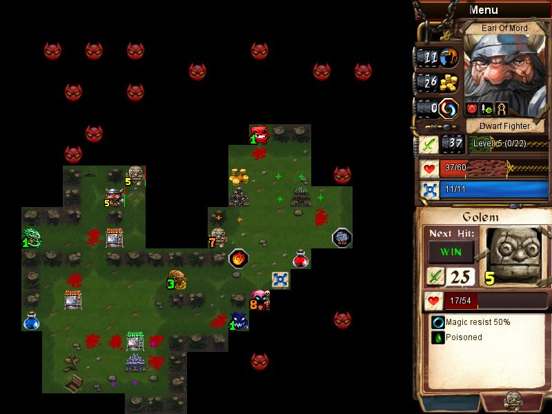 Desktop Dungeons Landing Shot3