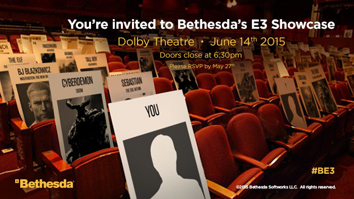 Bethesda-E3-Invite